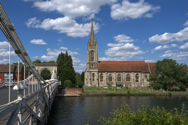 Chris Day | The Church by the Bridge Marlow