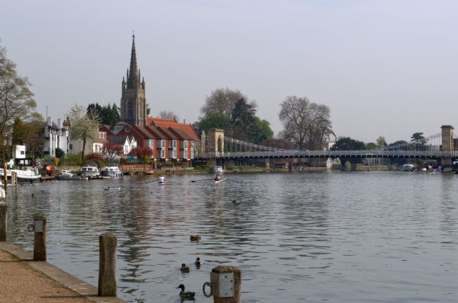 Chris Day | All Saints Marlow and Marlow bridge