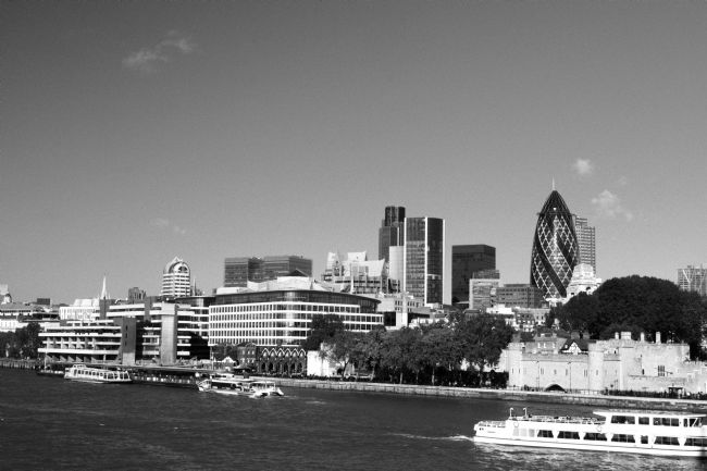 Chris Day | City of London Skyline in 2010