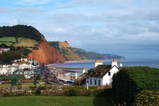Chris Day | View over Sidmouth