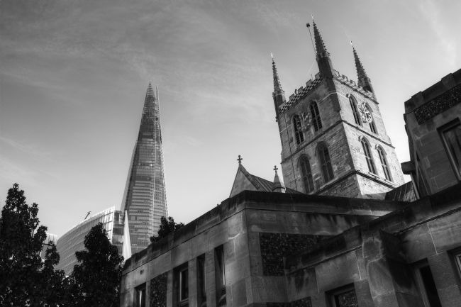 Chris Day | The Shard and Southwark Cathedral