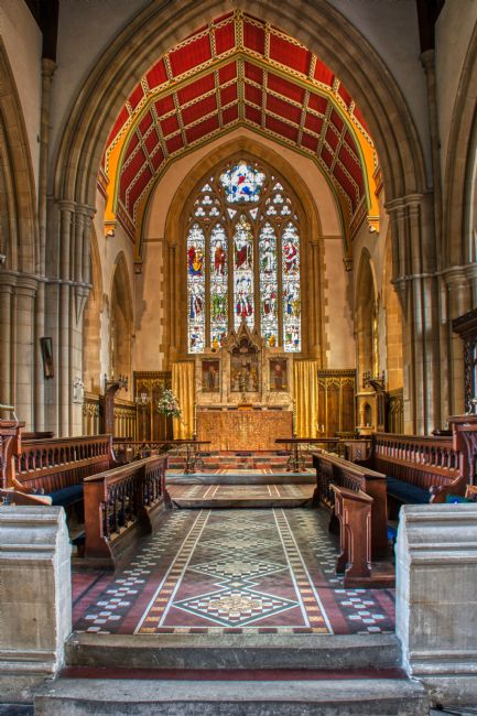 Chris Day | All Saints Marlow HDR version