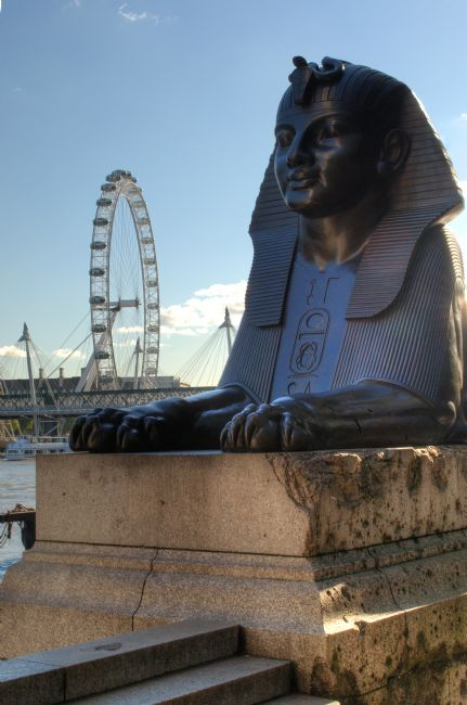Chris Day | I Sphinx it is the London Eye