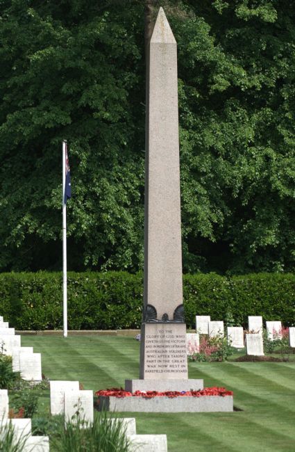Chris Day | Anzac war graves Harefield