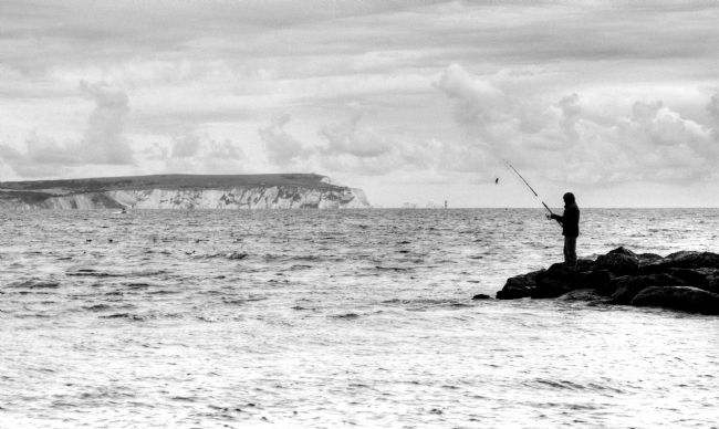 Chris Day | Angler at Hengistbury Head