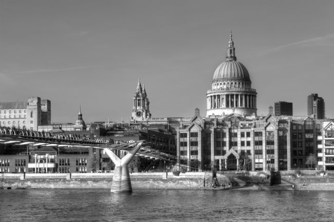 Chris Day | Millennium Bridge and St Pauls