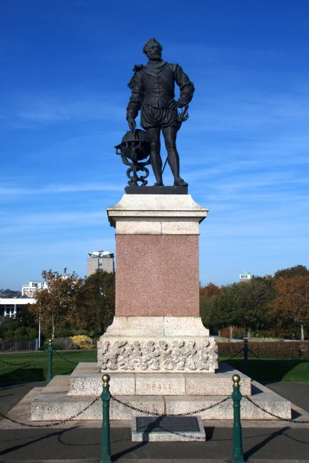 Chris Day | Sir Francis Drake Memorial Plymouth Hoe