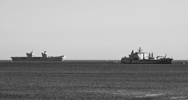 Chris Day | HMS Queen Elizabeth and RFA Tideforce