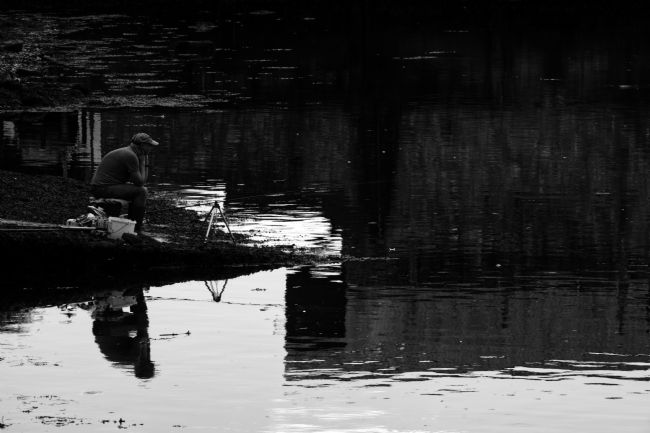Chris Day | Fishing  a time for reflection