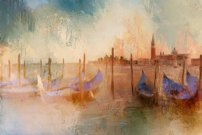 Ann Garrett | Venice Heat - Digital Painting
