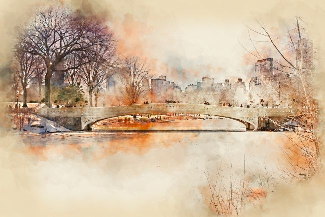 Ann Garrett | Bow Bridge Central Park New York