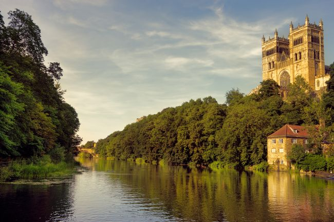 Ann Garrett | Durham Cathedral on the River Wear