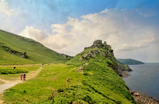 Rosie Spooner | Valley of the Rocks near Lynton in North Devon