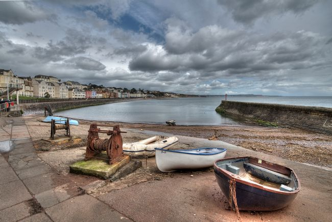 Rosie Spooner | Boat Cove and Old Boat Winches in Dawlish