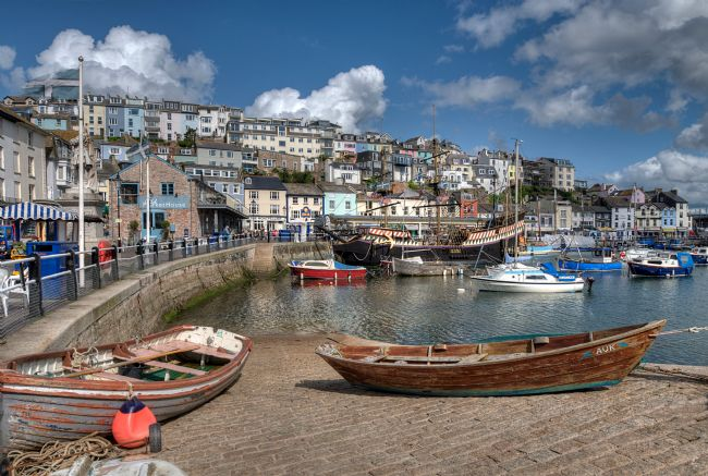 Rosie Spooner | Colourful Brixham Harbour