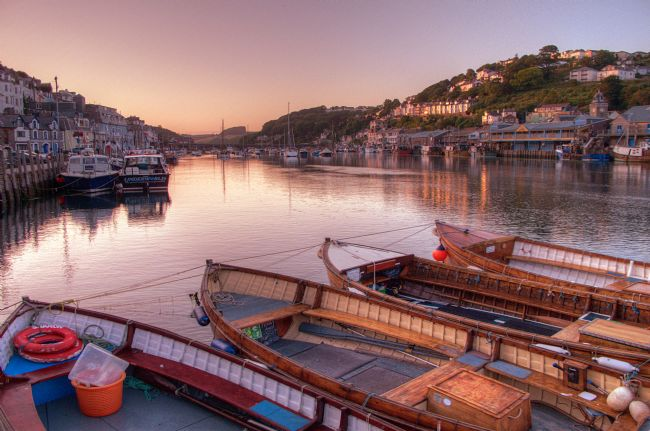 Rosie Spooner | The River Looe at Sunset in South East Cornwall