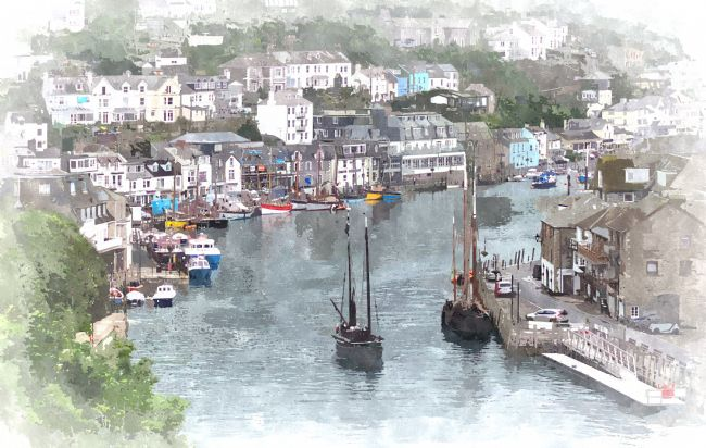 Rosie Spooner | Looe luggers getting ready for the Looe Lugger Regatta