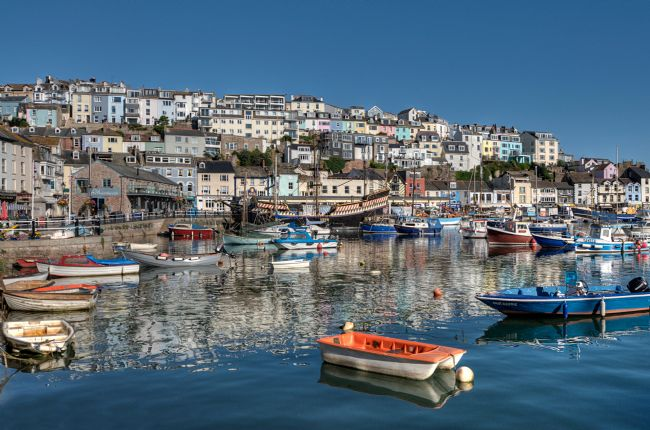 Rosie Spooner | Reflections at Brixham Harbour