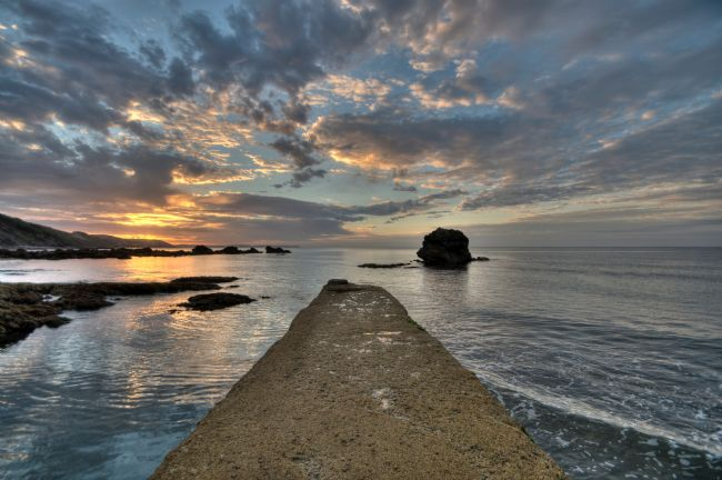 Rosie Spooner | Walkway at Millendreath at Looe