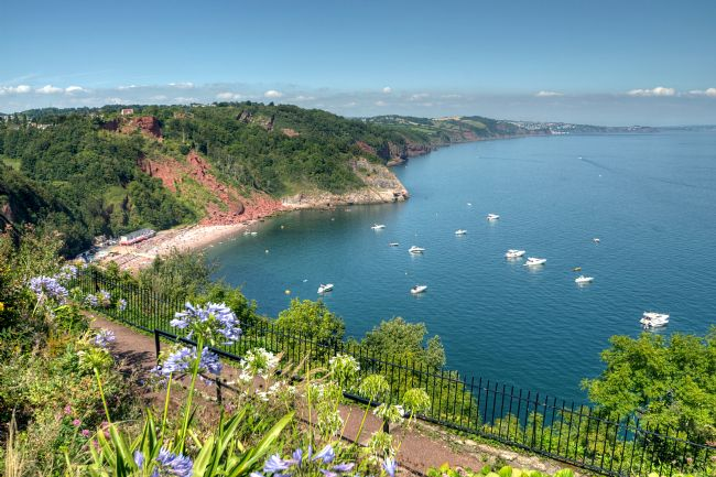 Rosie Spooner | View from Babbacombe Downs in Torquay South Devon
