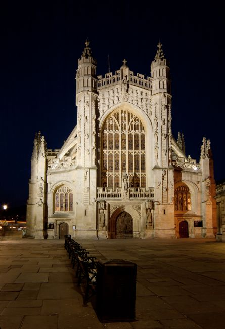 Karl Thompson | Bath Abbey at Night