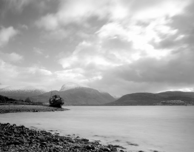 Karl Thompson | The Corpach Wreck