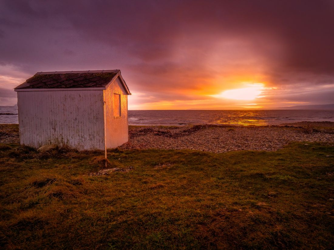 David Brookens | The Beach Hut at Dougarie