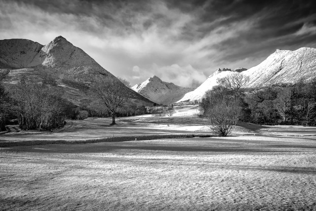 David Brookens | Corrie Golf Course Under Snow