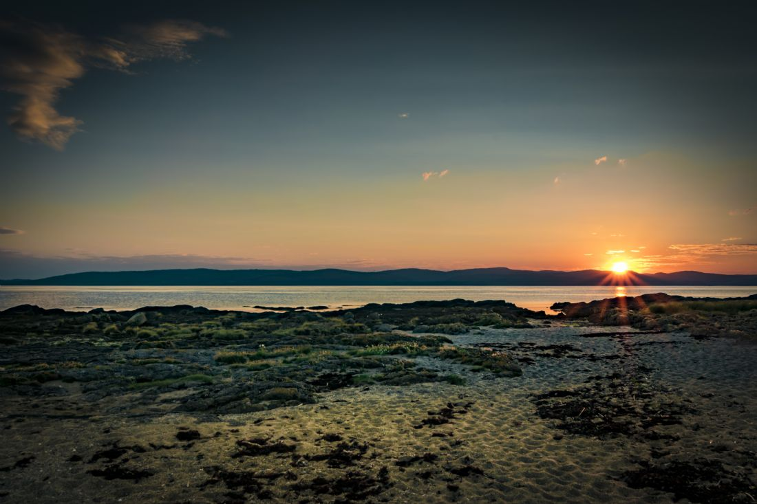 David Brookens | Sunset at Blackwaterfoot