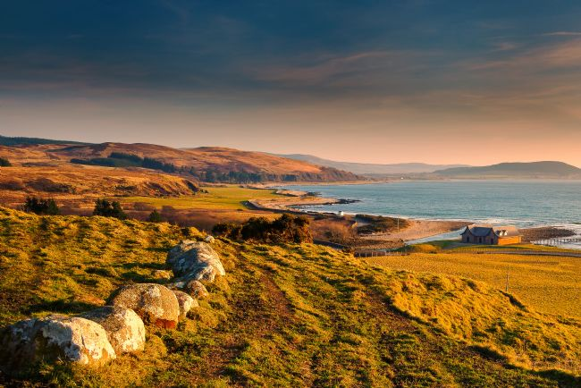 David Brookens | Machrie Bay from Dougarie