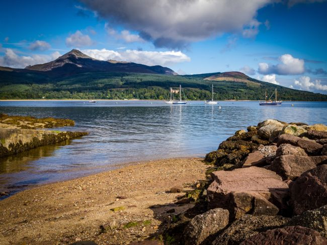 David Brookens | Goatfell and Brodick Bay