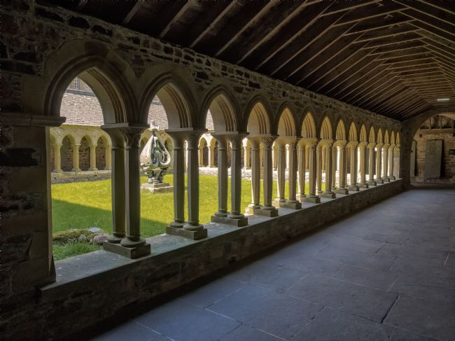 David Brookens | Iona Abbey Quadrangle