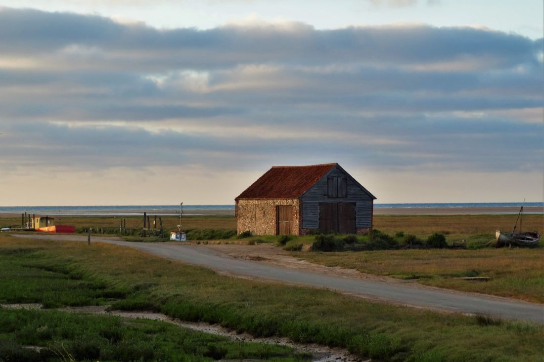 Bozena Thompson | The old coal shed in Thornham, Norfolk