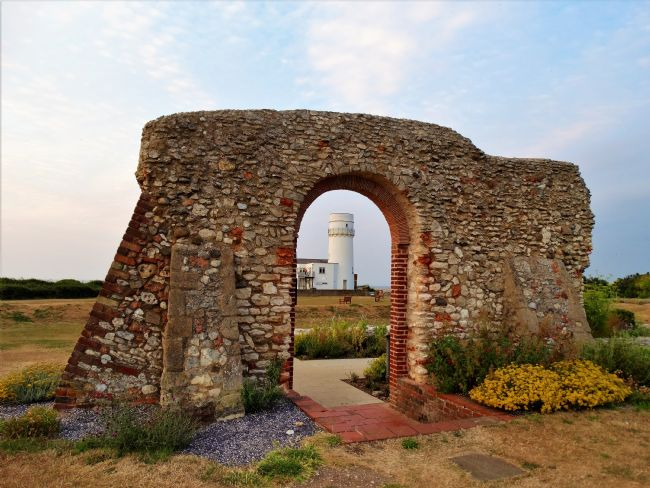 Bozena Thompson | Ruins of St Edmund`s Chapel in Hunstanton