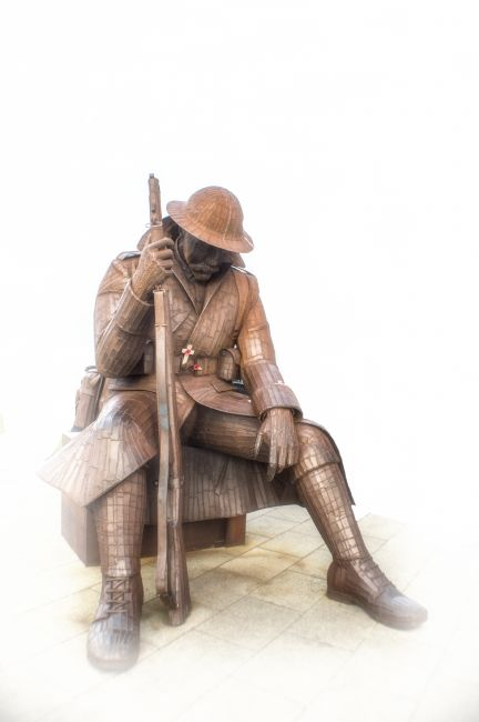 antony atkinson | Tommy the WW1 soldier of Seaham by (Ray Lonsdale)