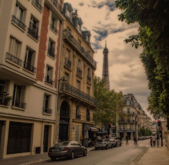 Antony Matthew Atkinson | The Streets of Paris