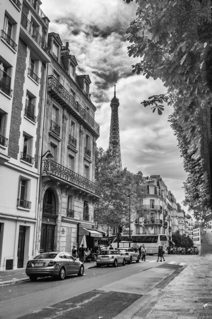 Antony Matthew Atkinson | Paris in Black and White
