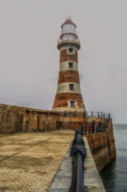 A Atkinson | Seaburn Lighthouse Sunderland