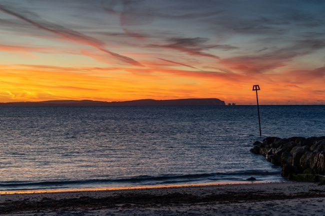 Phil Wareham | Sunrise over the Solent