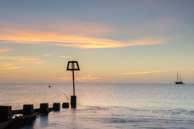 Phil Wareham | Sunrise at Swanage