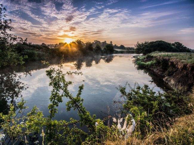 Phil Wareham | River Stour Sunrise