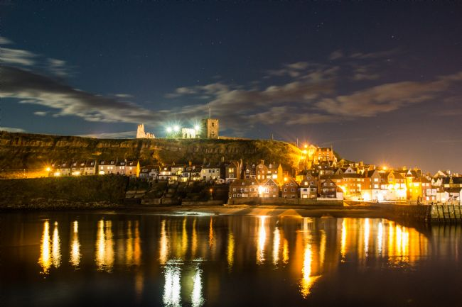 Phil Wareham | Whitby Harbour at Night