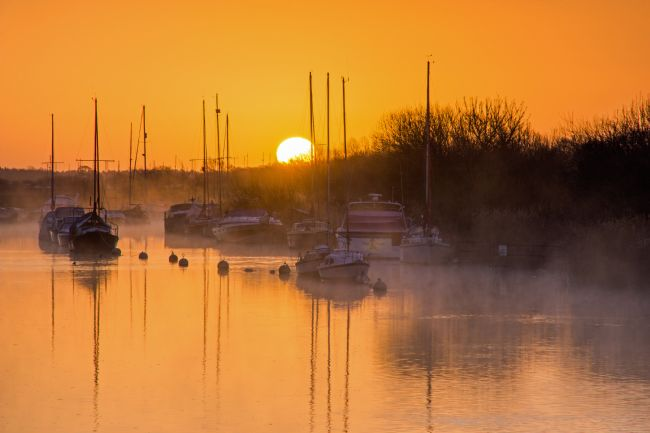 Phil Wareham | River Frome Sunrise