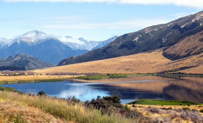 Hazel Wright | Lake Sarah, Cass, South Island, New Zealand