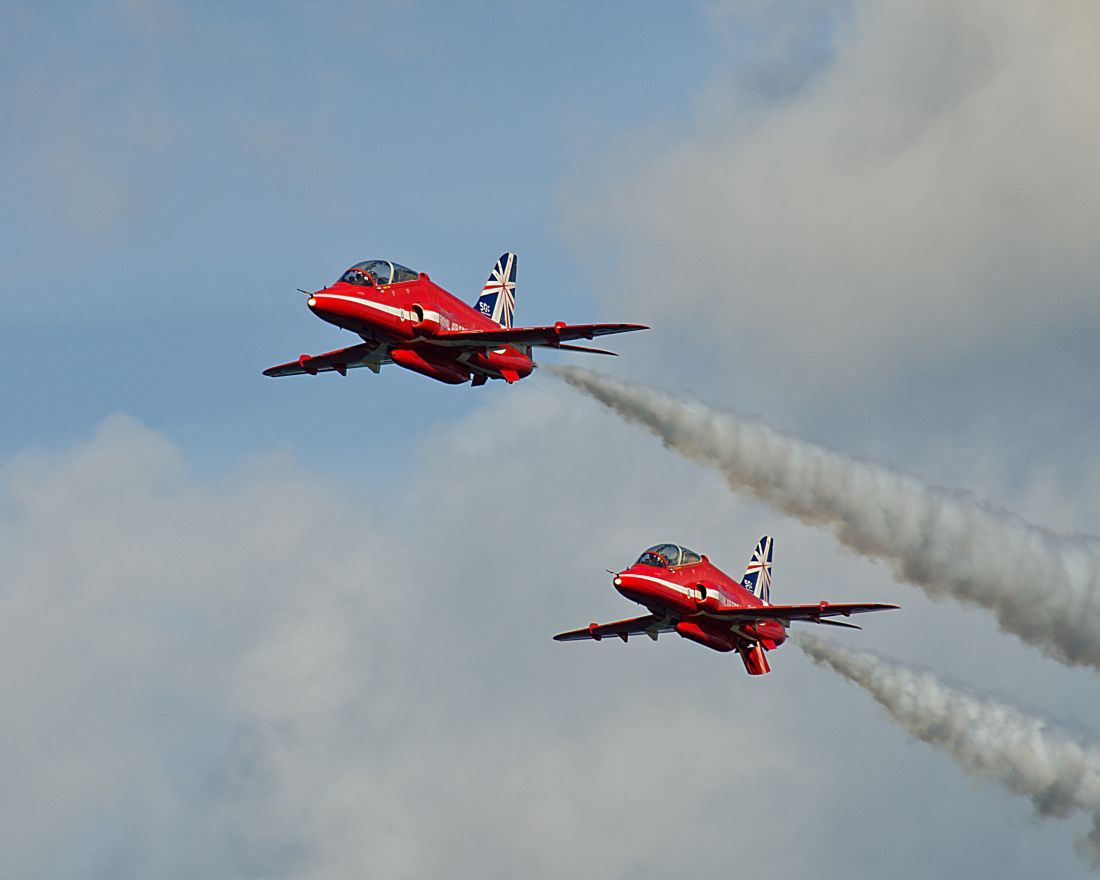 Pam Sargeant | A Pair of Red Arrows