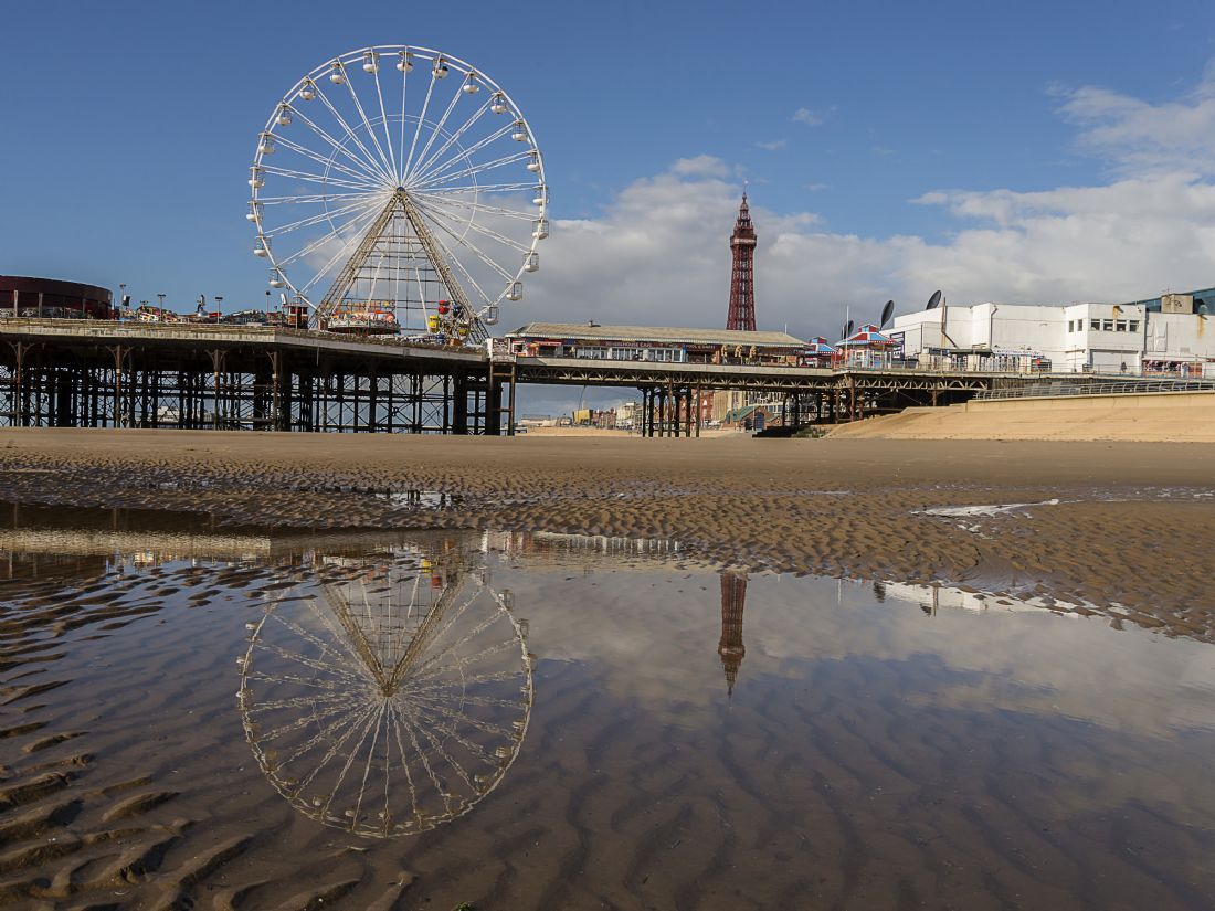 Pam Sargeant | Blackpool Reflections