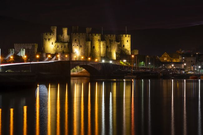 Pam Sargeant | Conwy Castle Reflections