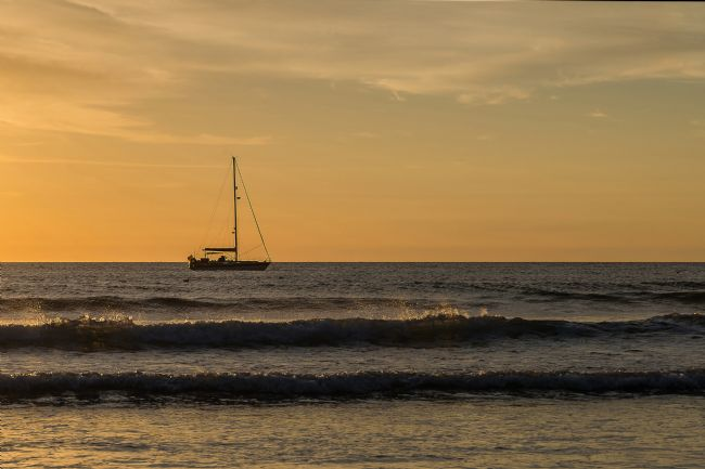 Pam Sargeant | Sailing at Sunset