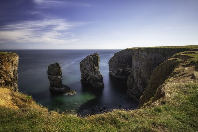 Pam Sargeant | Stack Rocks in Pembrokeshire