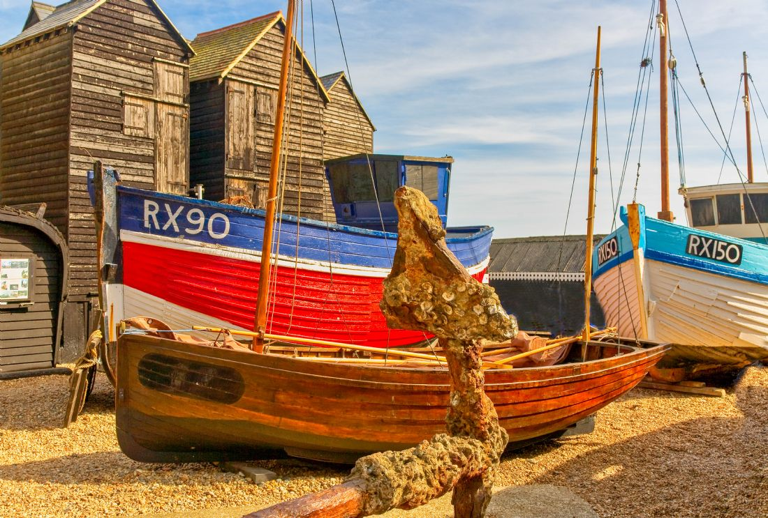 pauline tims | Anchor Sheds and Boats at Whitstable Kent